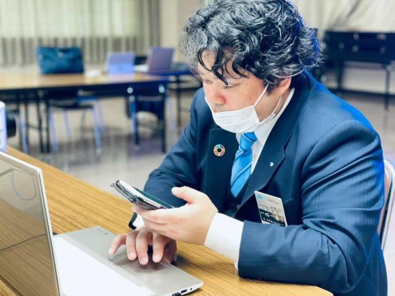 山田委員長の想い…<近畿地区大会実行特別委員会>